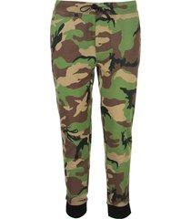 ralph lauren camo cotton jogger trouser