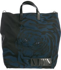 borsa uomo a mano in nylon tiger