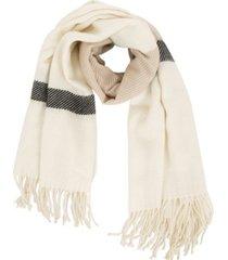 glitzhome scarf with stripe