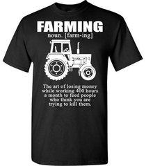 farming noun t shirt