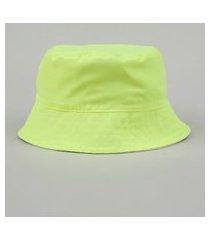 chapéu de sarja unissex bucket dupla face multicor
