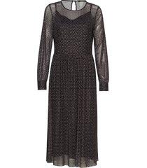 ease natali dress maxiklänning festklänning svart bruuns bazaar