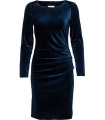 kelly dress kort klänning blå kaffe