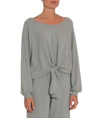 women's eberjey blair knotted pullover