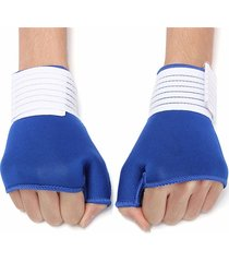 guanti di rilievo dell'artrite di supporto del polso del palmo della mano dell'involucro del polsino