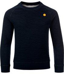 common heroes reversibel sweater navy / grey melee voor jongens in de kleur
