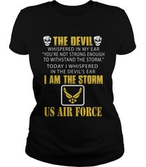 us air force the storm t-shirt