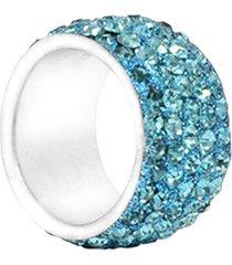anillo de mujer turquesa 5 línee lumiere colection vestopazzo