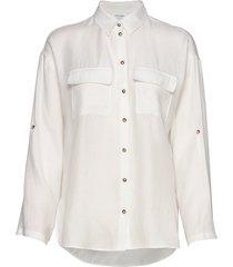 blouse 3/4-sleeve långärmad skjorta vit gerry weber