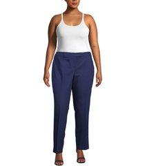 anne klein plus size bowie tab-waist pants