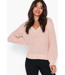 object collectors item objpenny l/s knit pullover 105 stickade tröjor