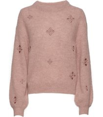 adelia sweater gebreide trui roze lexington clothing