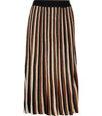 lepus knit hw skirt knälång kjol brun second female