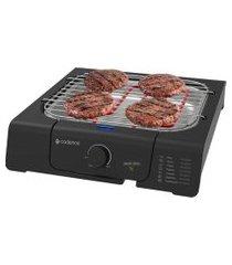 churrasqueira elétrica cadence short grill grl805 preto 220v