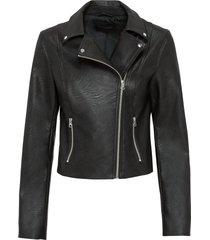 giacca in similpelle (nero) - bodyflirt