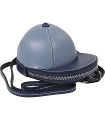 jw anderson blue nano cap bag