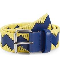 m missoni women's printed belt - orange - size 75 (s)