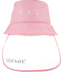 off-white woman pink keep safe bucket hat