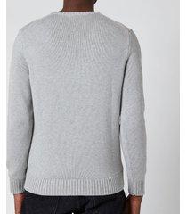 polo ralph lauren men's crewneck sweatshirt - andover heather - l