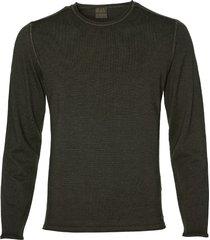benvenuto pullover - modern fit - groen