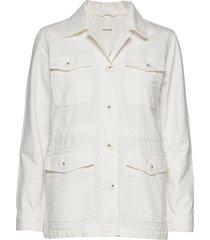 gretchen jacket zomerjas dunne jas wit wood wood
