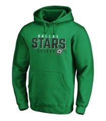 majestic dallas stars men's empty netter hoodie