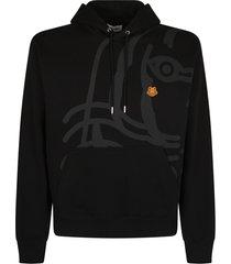 kenzo branded hoodie