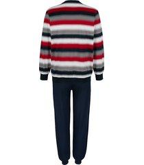 pyjamas g gregory marinblå/röd/grå