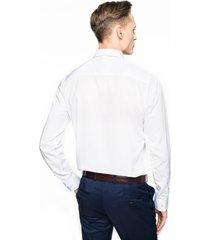 koszula bexley 2603 długi rękaw custom fit biały