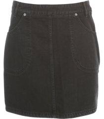 kenzo short denim skirt