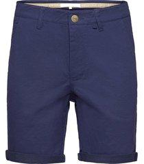 bygdøy shorts shorts chinos shorts blå fram