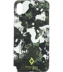 marcelo burlon county of milan camouflage-print iphone xs max case -