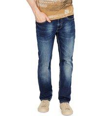 buffalo david bitton men's ash slim-fit jeans - indigo - size 29 34