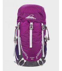mochila violeta montagne amber