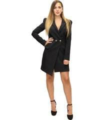 robe manteau dress with buttons