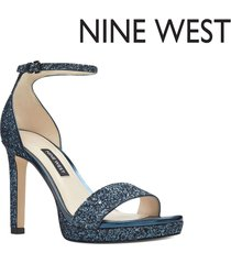sandalias nine west edyn - azul