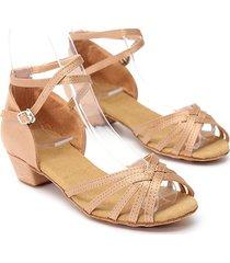 sandalias zapatos talón baile latino salsa