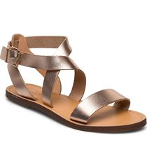 leelah shoes summer shoes flat sandals guld dune london