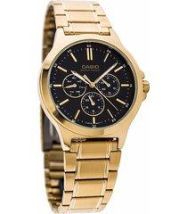 reloj  casio hombre mtp-v300g-1a multifuncional original