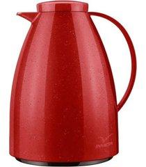 bule tã©rmico viena vermelho ceramic 750 ml - invicta - vermelho - dafiti