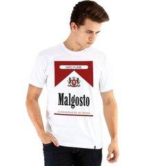 camiseta ouroboros manga curta malgosto masculina