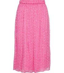 cecilia skirt knälång kjol rosa storm & marie