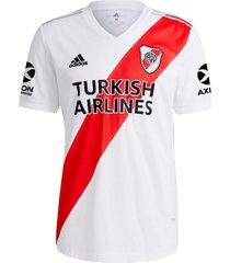 camiseta blanca adidas river plate titular 20/21