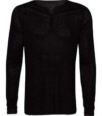 camiseta masculina mescla linho viscose preto