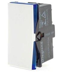 módulo pulsador iluminação plusmais 2a branco