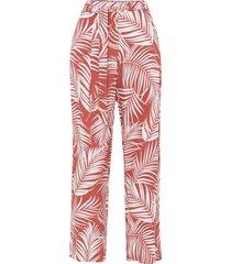 pantaloni a palazzo in viscosa sostenibile (rosso) - bodyflirt