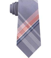 kenneth cole reaction men's kenny plaid slim tie