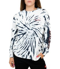 dickies juniors' tie-dyed long-sleeved t-shirt