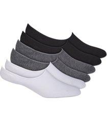 warner's women's 6-pk. stay fresh anti-odor liner socks