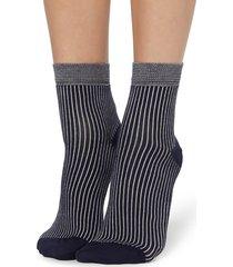 calzedonia - fancy patterned socks, one size, stripes, women